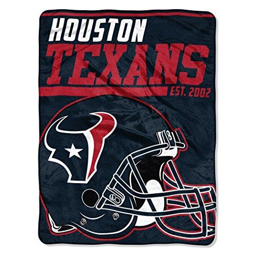 The Northwest Company NFL Houston Texans 40 Yard Dash Micro Raschel Throw, 46