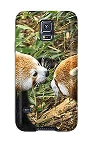 Tough Galaxy GQFwNVe21901xfGjh Case Cover/ Case For Galaxy S5(red Panda Animal)