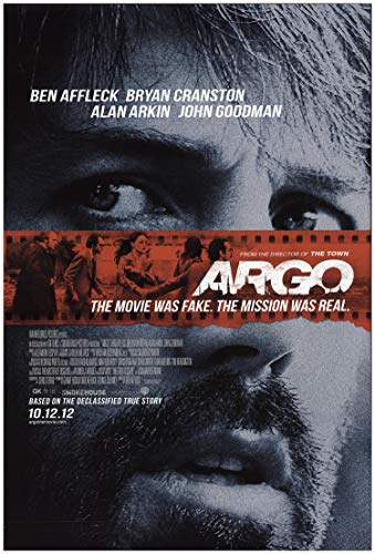 "Private: Argo 2012 Authentic 27"" x 40"" Original Movie Poster Rolled Fine, Very Good Alan Arkin Thriller U.S. One..."