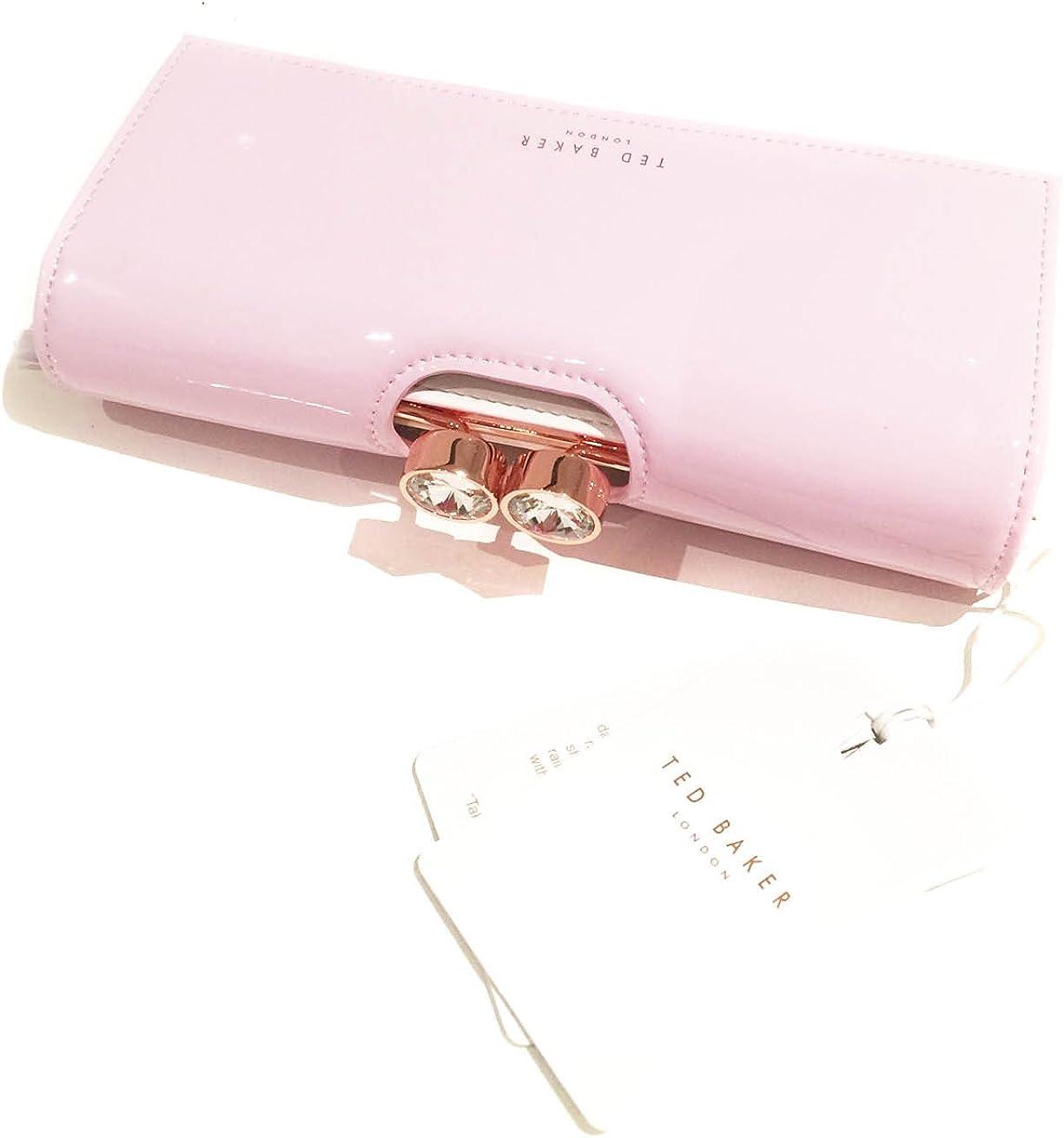 Ted Baker - Monedero de piel Mujer Rosa Pale-Pink: Amazon.es: Ropa y accesorios