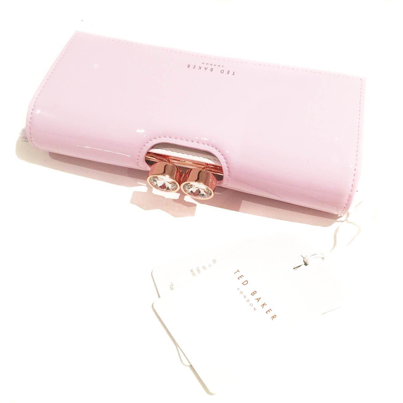 Ted Baker - Monedero de piel Mujer Rosa Pale-Pink: Amazon.es ...