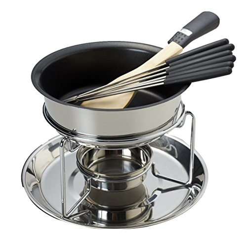 パール金属ストーリィ3層底チーズフォンデュ鍋セットH-1647