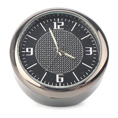 (GZYF Car Dashboard Clock Table Round Classic Analog Quartz Clock Compatible with Mercedes-Benz)
