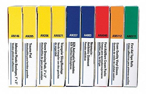 Unitized Kit Refill - First Aid Kit Refill, Unitized, 65Pcs
