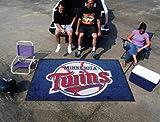 "Fanmats Sports Team Logo Minnesota Twins Ulti-Mat 60""96"""