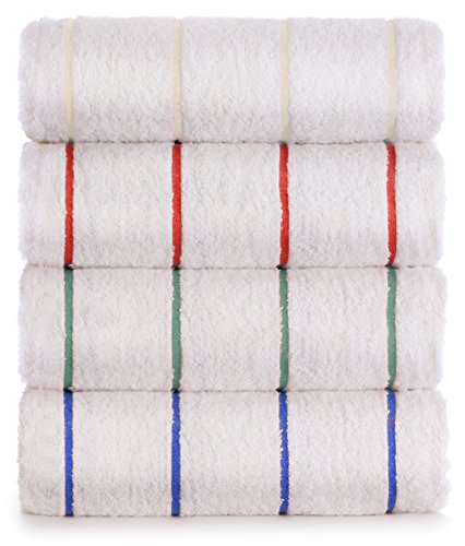 Luxury Hotel Towel Turkish Cotton Extra Large Pool-Beach Towel Set (Set of 4