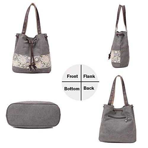 Bags La Ladies Tote Crossbody Shoulder funzione Handbag The Blue Meiping Mutil HSnBPP