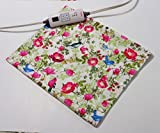 """Replacement Cover for 12"""" x 15"""" Heating Pad ~ Heating Pad Cover ~ Cover Only ~ Birds in Flowers"""