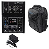 Mackie Mix5 Compact 5 Channel Mixer + Backpack Carry Bag