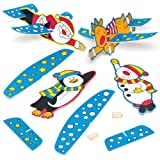 Christmas Gliders - Perfect Stocking Filler for Children (Pack of 4)