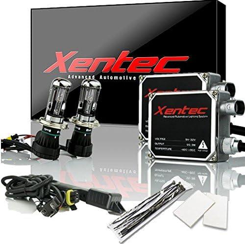 XENTEC 9006 10000K bulbs x 2 bundle with x 2 55W Advanced Slim Ballasts