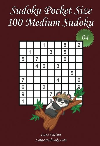 Sudoku Pocket Size - Medium Level - N°4: 100 Medium Sudoku Puzzles - to take everywhere - Pocket Size (4