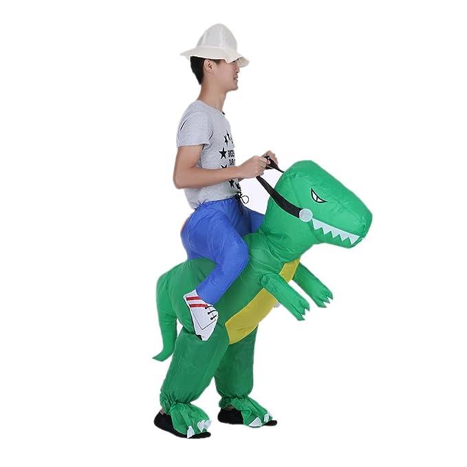 Compresor traje hinchable Dinosaurio, disfraz hinchable ...
