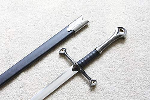 (S0709 LOTR Lord of The Rings NARSIL ANDURIL Sword of King ELENDIL ELESSAR 42