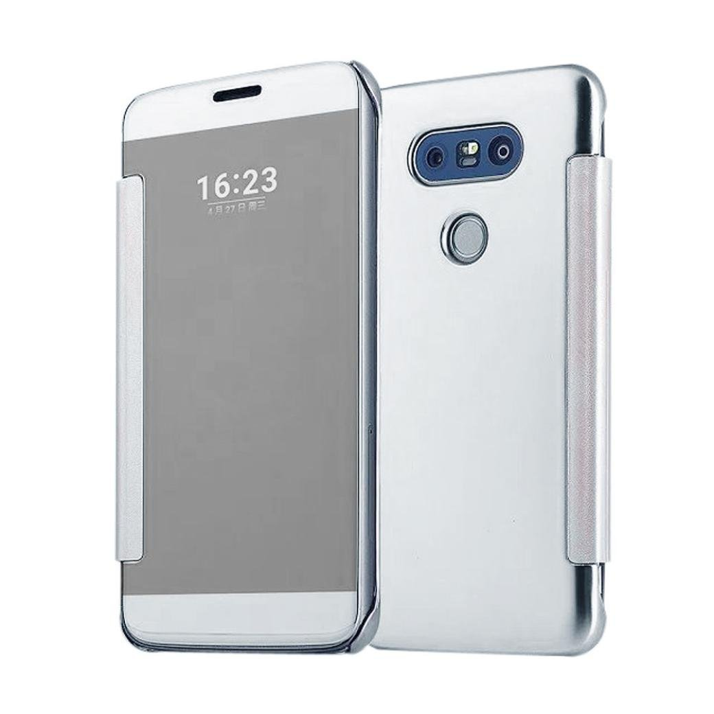 Susenstone Luxury Mirror Slim Case Cover For LG G5 (silver ) Susenstone_1336