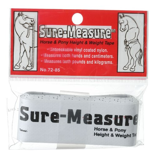 Tough 1 Sure Measure Horse and Pony Height/Weight - Measuring Equine Stick