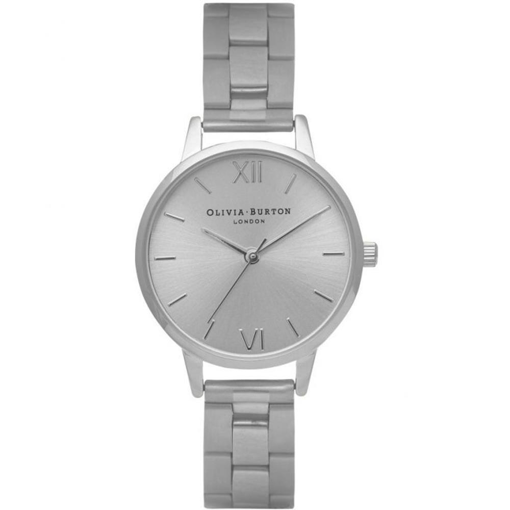 Olivia Burton Reloj Analógico para Mujer de Cuarzo con Correa en Acero Inoxidable OB13BL10: Amazon.es: Relojes