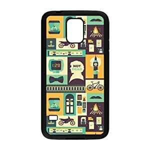 Danny Store Sherlock Protective TPU Rubber Back Fits Cover Case for Samsung Galaxy S5