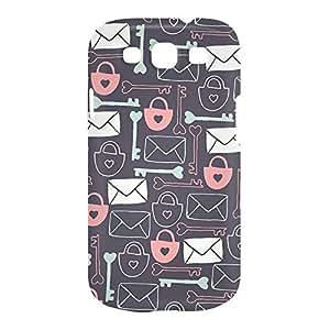 Love Lock Samsung S3 3D wrap around Case - Design 1