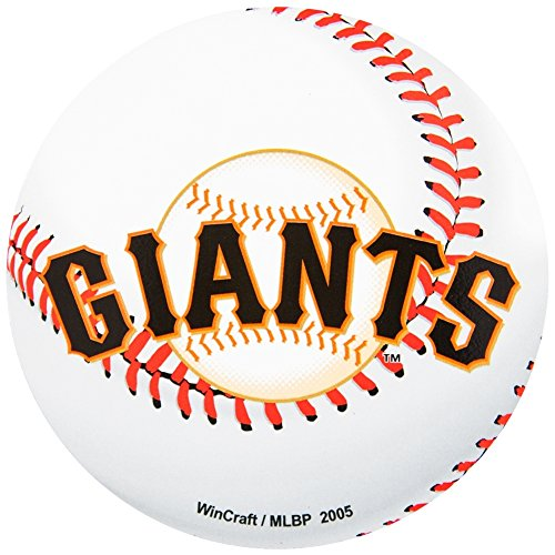 (WinCraft San Francisco Giants Official MLB 4.5 inch x 6 inch Car Magnet by 162007)