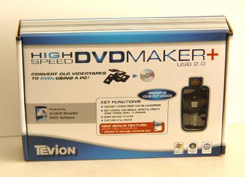 Tevion High Speed DVD Maker (USB 2.0)