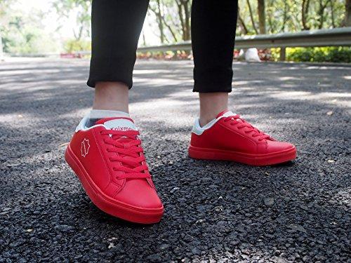 Pour Sport À Air Bubble Lacets Aide Jogging Femmes Absorbant Lacets Sneakers Knixmax Course Marche Gym Fitness Pied Mesh Choc Rouge De Léger Chaussures qwXfz