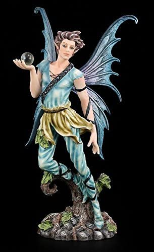 "Elfe  /""Fishing for Riddles/""  von Selina Fenech 16 cm Fantasy Fee Figur Veronese"