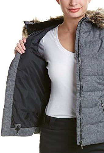 Obermeyer Bombshell Petite w//Faux Fur Womens Insulated Ski Jacket 11053