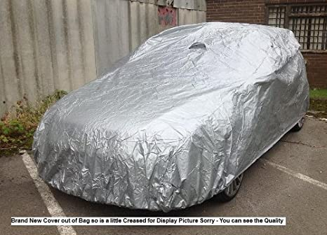 05+ FORD FOCUS ST 2 X CLIP COTTON LINED WATERPROOF CAR COVER