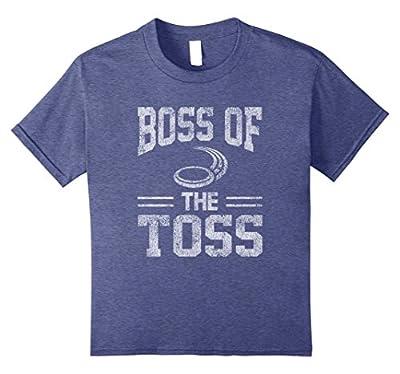 Boss Of The Toss Disc Golf Problem Distressed T-Shirt
