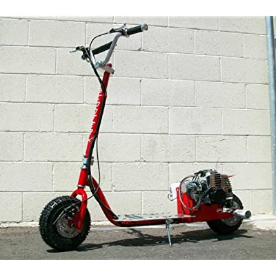 Dirt Dog - RED - 49cc Gas Powered Scooter [512] : Sports Scooters : Sports & Outdoors