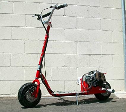 Dirt Dog - RED - 49cc Gas Powered Scooter [512]