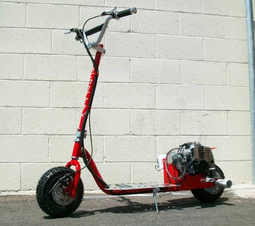 ScooterX Dirt Dog 49cc Gas Scooter * Can ride doubles and...