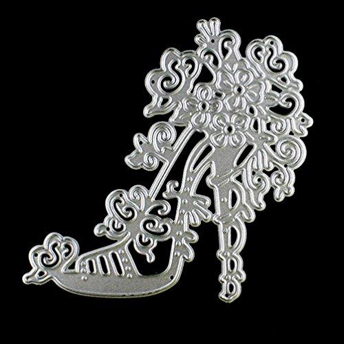 (Metal Die Cutting Dies Stencil for DIY Scrapbooking Album Paper Card Decor Craft by Topunder W)