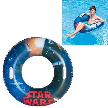 Blue Guaranteed4Less Mermaid Tail Swim Ring Kids Inflatable Swimming Pool Fun Water Float Beach Toy