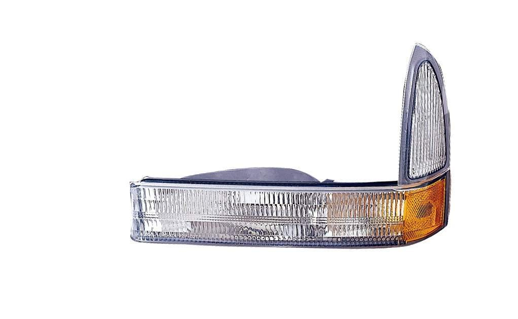Depo 331-1638L-US-CY Ford F-Series Super Duty//Excursion Driver Side Replacement Parking//Signal Light Unit