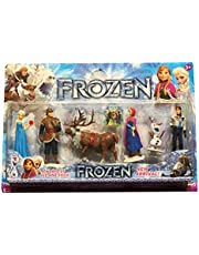 Frozen Ana and Elsa 6 Pieces Figures Toy for Girls