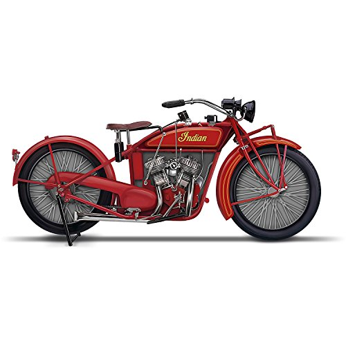 The Hamilton Collection 1923 Indian Motorcycle Miniature Replica Sculpture: Hamilton Collection (Sculpture Replica)