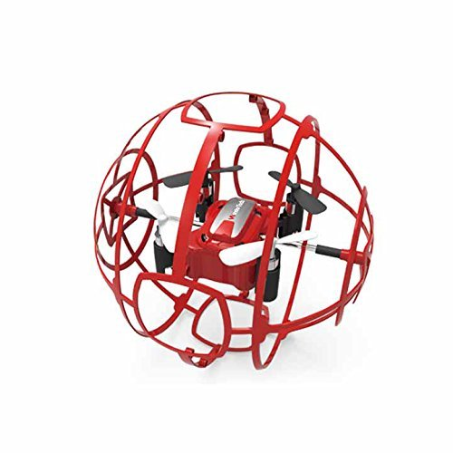 WonderTech Drone W109 Cyclone Drone with Easy to Fly Technology | Red