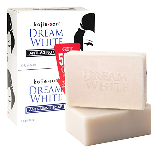 Whitening Philippines Soap (KOJIE SAN SOAP, ALL VARIANTS, FREE SHIPPING (DREAM WHITE WHITENING SOAP 2X135GRAMS))