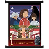 "Spirited Away Anime Fabric Wall Scroll Poster (16"" x 23"") Inches. [WP]-Spirited Away-4"