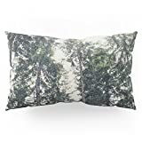 Society6 Up In The Woods Pillow Sham King (20'' x 36'') Set of 2