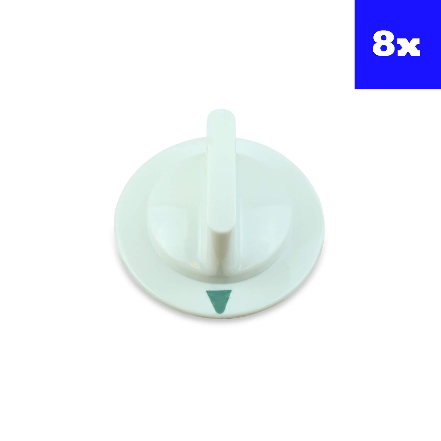 GE Dryer Timer Control Knob For WE1M652 AP3995164 PS1482196 Set of 8 by USA SmartParts
