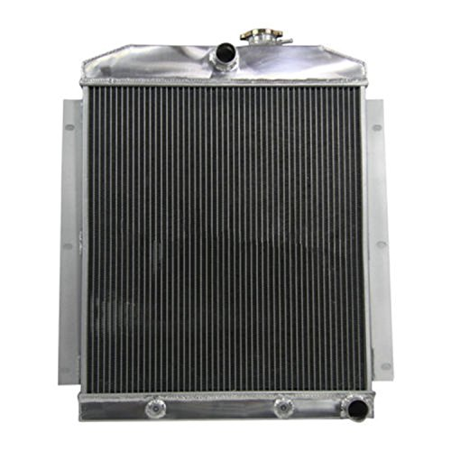 Chevy Suburban Truck Radiator - ALLOYWORKS 3 Row Aluminum Radiator for Chevy C/K Series Truck Pickup Suburban 47-54