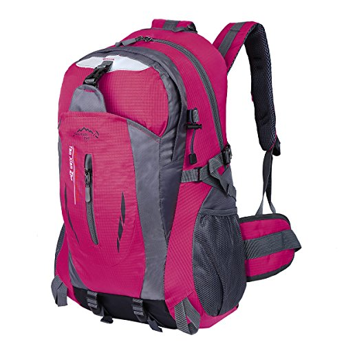 HWJIANFENG Hiking Backpack Trekking Backpack Travelling Backpack Cycling Backpack Riding Rucksack Mountaineering Backpack Outdoor Sports Daypack Ultralight Laptop Bag Waterproof Men Women 30L - Friday Black Promotion Codes