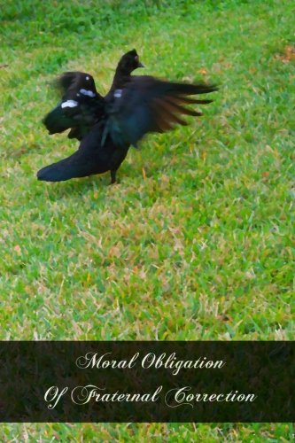 Download Moral Obligation Of Fraternal Correction pdf