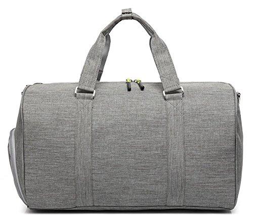 52b472c6259c Kenox Duffle Bag Sports Gym Travel Luggage Including Shoes Compartment
