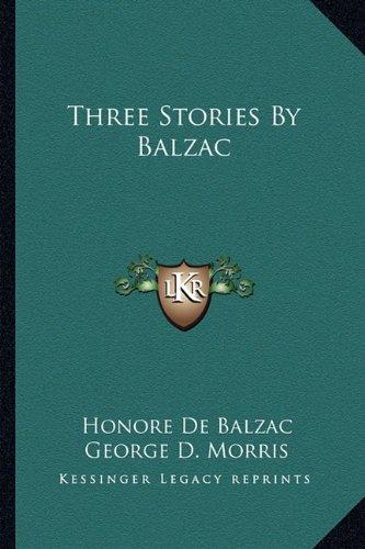 Download Three Stories By Balzac pdf