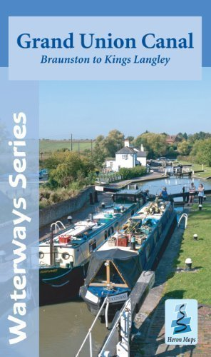 Grand Union Canal Map - Braunston to Kings Langley by Heron Maps published by Heron Maps (2012) ()