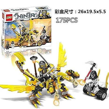 Amazon.com: 4 Styles Ninja Ninjagoes Dragon Diamond ...